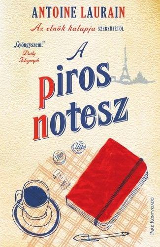 A piros notesz - Antoine Laurain |