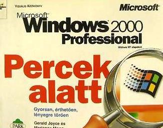 Microsoft Windows 2000 Professional Percek alatt