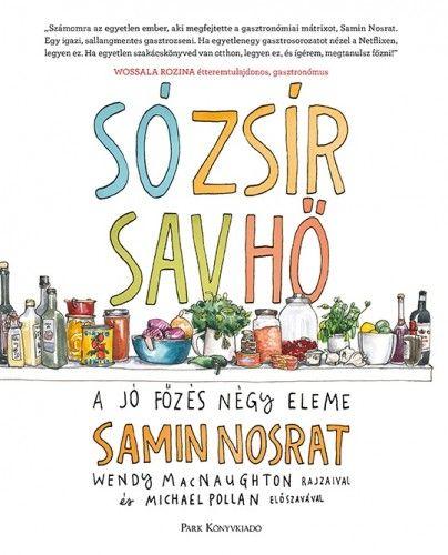 Só, zsír, sav, hő - Samin Nosrat pdf epub