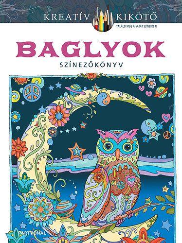 Baglyok - Színezőkönyv