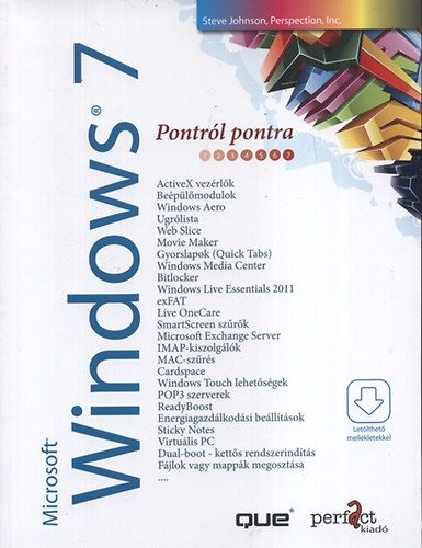 Microsoft Windows 7 pontról pontra