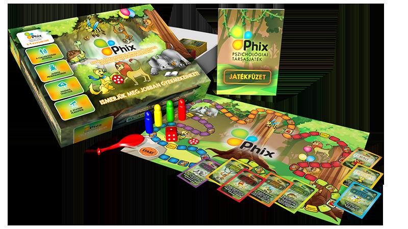 Phix társasjáték 6-9 éveseknek