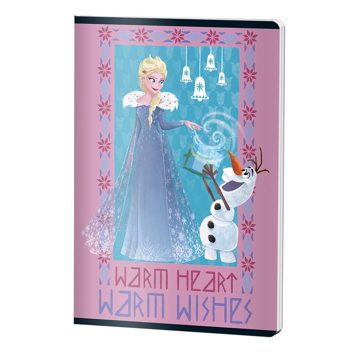 Füzet A4 60 lap vonalas Frozen
