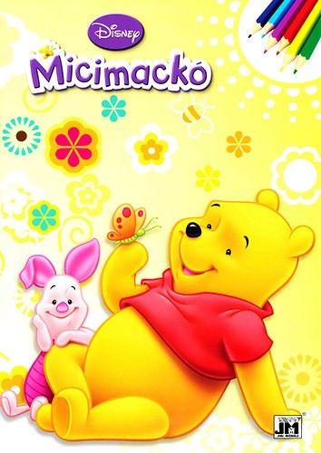 Micimackó - A4 színező