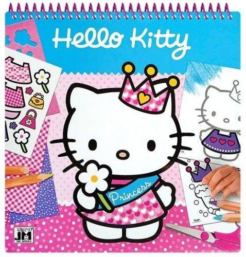Hello Kitty - 25x25 kreatív matricás színező