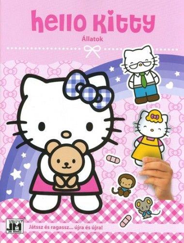 Hello Kitty - matricás foglalkoztató