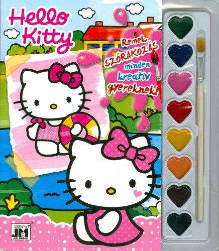 Hello Kitty - A5 kifestő festékkészlettel 2. -  pdf epub