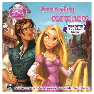 Disney Hercegnők - Aranyhaj története 2 az 1-ben könyv és foglakoztató