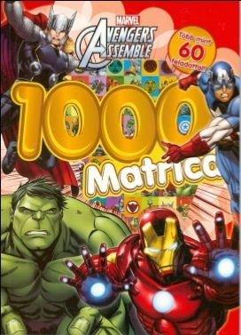 Avengers Assemble - 1000 matrica -  pdf epub