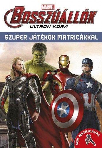 Bosszúállók - Ultron kora - Szuper játékok matricákkal