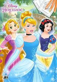 Disney Hercegnők - A/4 színező
