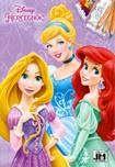 Disney Hercegnők - A/5 színező