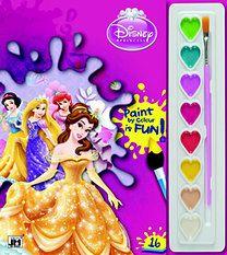 Disney Hercegnők - A5 kifestő festőkészlettel