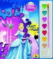 Hamupipőke - A4 kifestő festékkészlettel - Disney pdf epub