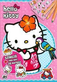 Hello Kitty - A/4 matricás színező