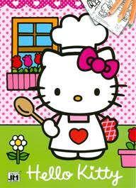 Hello Kitty - A/4 színező