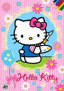 Hello Kitty - A4 színező
