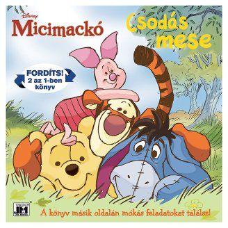 Micimackó - Csodás mese 2 az 1-ben könyv és foglalkoztató