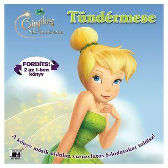 Disney Tündérek - Csingiling és a  2 az 1-ben könyv és foglakoztató
