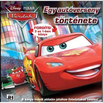 Verdák - Egy autóverseny története 2 az 1-ben könyv és foglakoztató