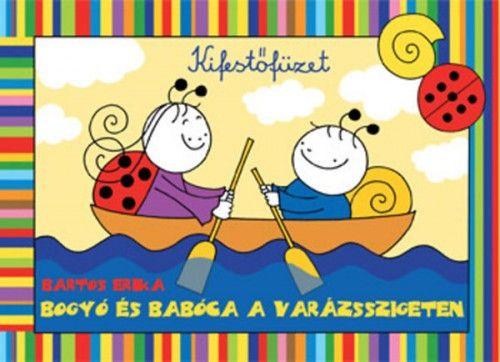 Bogyó és Babóca a Varázsszigeten - kifestő