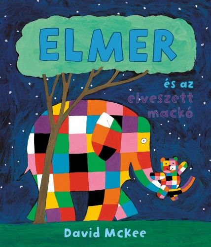 Elmer és az elveszett mackó - David McKee |