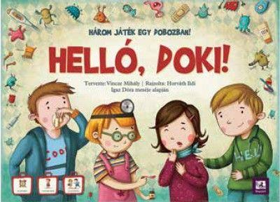 Helló, doki! - társasjáték -  pdf epub
