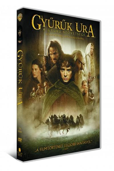 A Gyűrűk Ura - A gyűrű szövetsége (1 lemezes változat) - DVD