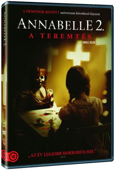 Annabelle 2. - A teremtés - DVD