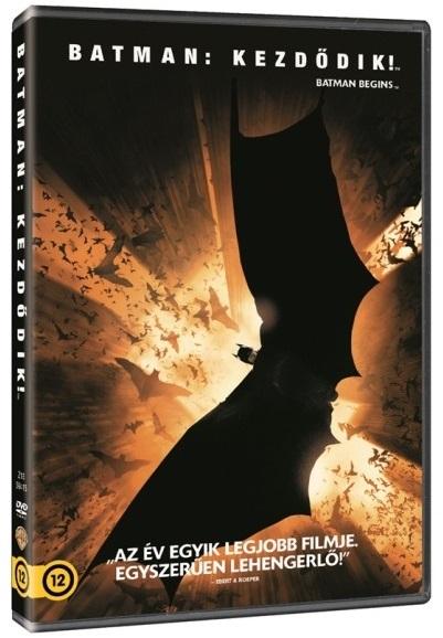 Batman: Kezdődik! - DVD