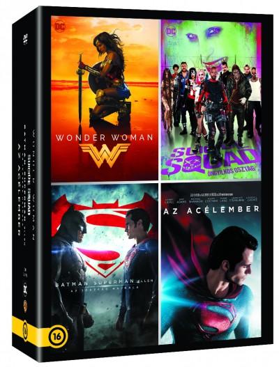DC Moziverzum 4 filmes gyűjtemény - DVD