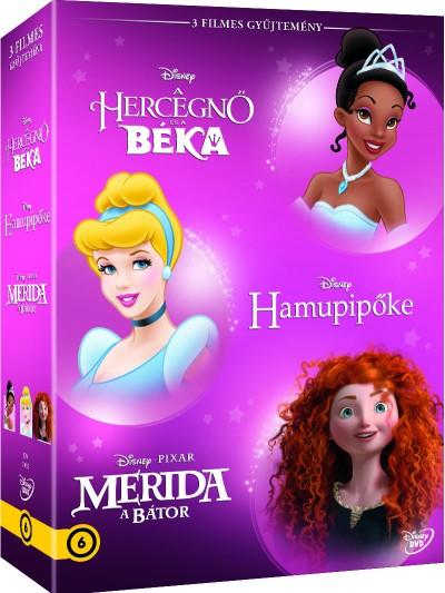 Disney Hősnők díszdoboz 4. - DVD