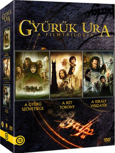 A Gyűrűk Ura: Trilógia - 3 lemezes DVD