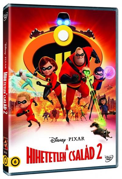 Hihetelen család 2 - DVD