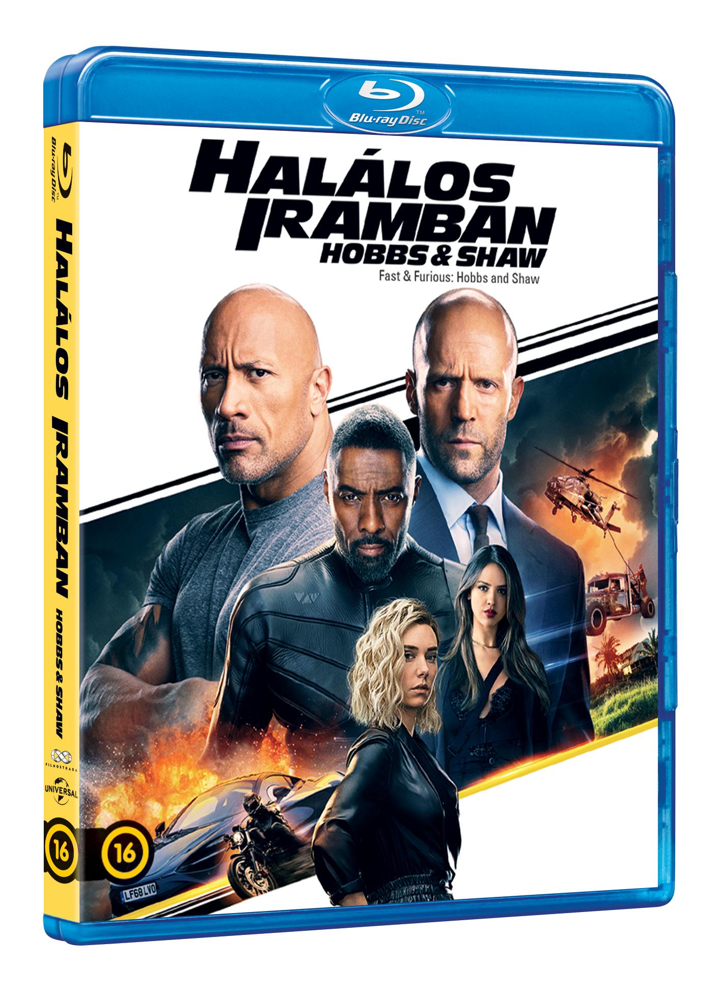 Halálos iramban: Hobbs és Shaw - Blu-Ray