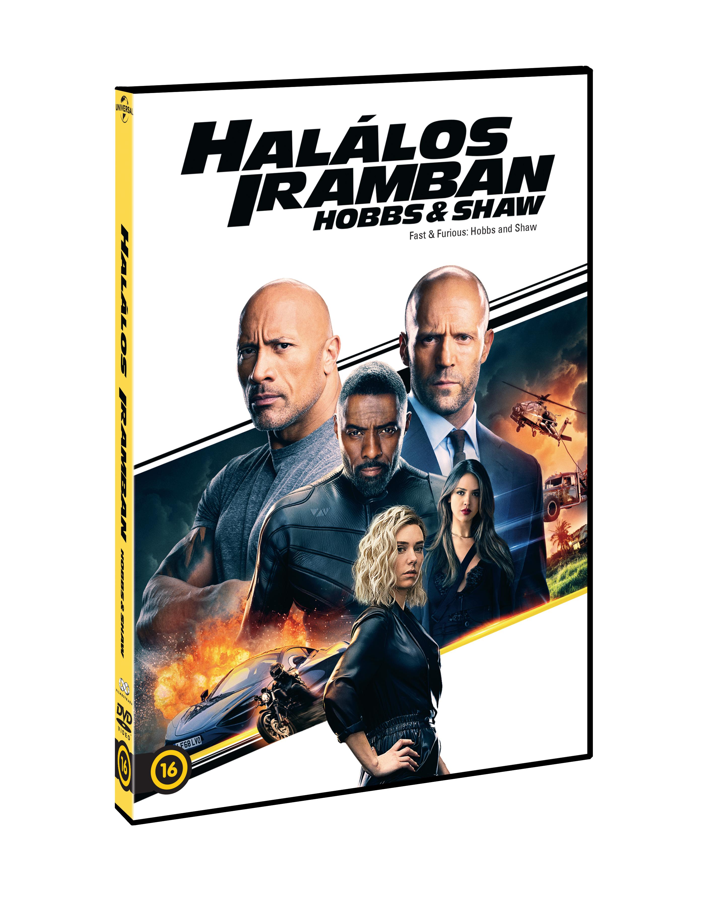 Halálos iramban: Hobbs és Shaw - DVD