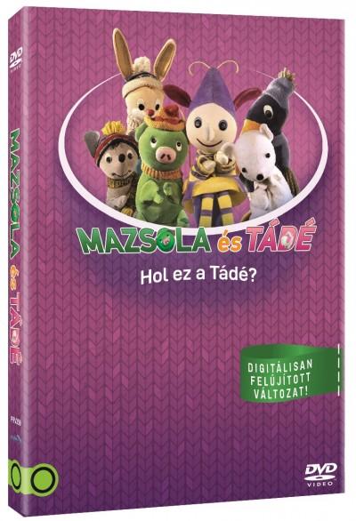 Mazsola és Tádé: Hol ez a Tádé? - DVD