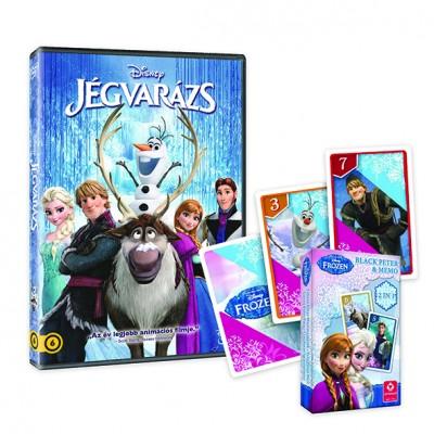 Jégvarázs + kártya - DVD