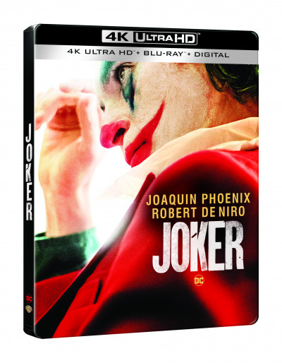 Joker - Steelbook - 4K UltraHD+Blu-ray
