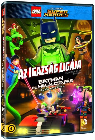 LEGO: AZ IGAZSÁG LIGÁJA - Batman és Halálcsapás - DVD