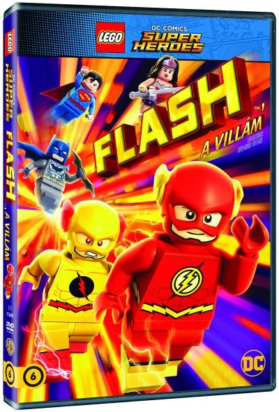 LEGO szuperhősök - Flash, a villám - DVD
