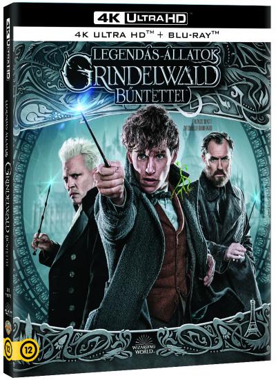 Legendás állatok - Grindelwald bűntettei - 4K UHD + Blu-ray