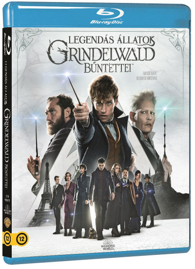 Legendás állatok - Grindelwald bűntettei - Blu-ray -  pdf epub