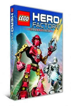 Lego Hero Factory - Jönnek az újoncok - DVD