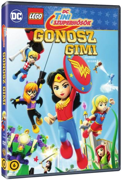 Lego Tini szuperhősök - Gonosz gimi - DVD