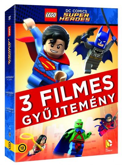 Lego DC Szuperhős gyűjtemény 2016 - DVD