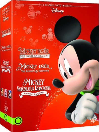 Mickey díszdoboz  - DVD
