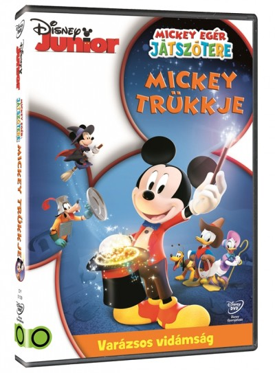 Mickey egér játszótere - Mickey trükkje - DVD