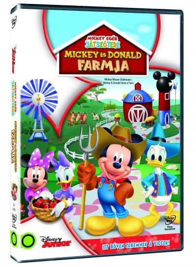 Mickey egér játszótere - Mickey és Donald farmja - DVD