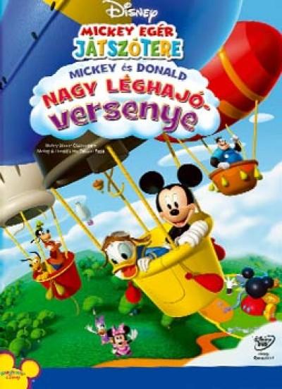 Mickey és Donald nagy léghajóversenye - DVD
